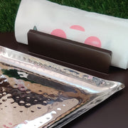 S-Shaped Double Triangle Snacks Platter - View 1
