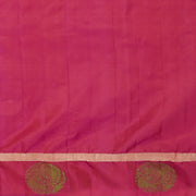 SIGNORAA MUSTARD KANCHIPURAM SOFT SILK SAREE-KSL02605- Blouse View