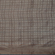 SIGNORAA GREYISH BLUE TUSSAR SILK SAREE-PTS04737- Blouse View