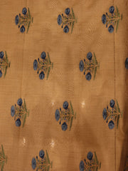 Signoraa Beige Cotton Unstitched Fabric-PMT06252