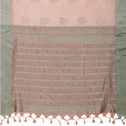 SIGNORAA LIGHT PINK DAILY WEAR TUSSAR SAREE-BLN00096A- Full View