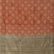 SIGNORAA RED BANARASI SILK SAREE-BSK06357- Full View