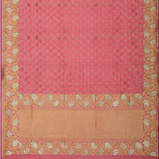 SIGNORAA PINK BANARASI SILK SAREE-BSK08967- Full View