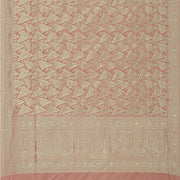 SIGNORAA ONION PINK BANARASI SILK SAREE-BSK09080- Full View