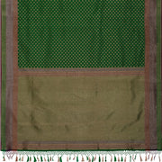 SIGNORAA GREEN BANARASI SILK SAREE-BSK08720- Full View