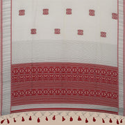 SIGNORAA BEIGE DAILY WEAR TUSSAR SAREE-BLN00091B- Full View