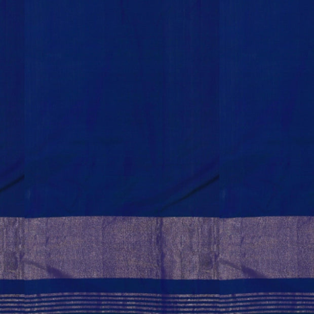 SIGNORAA BLUE RAJKOT PATOLA SILK SAREE-RPT00754- Blouse View