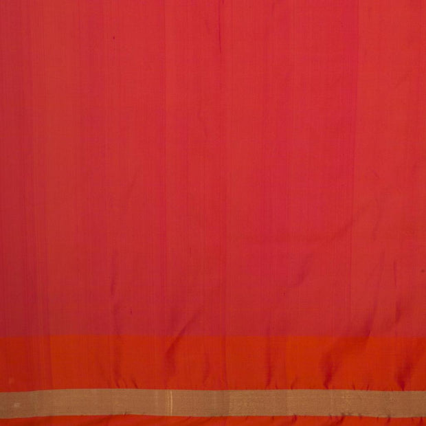 SIGNORAA OIL MUSTARD KANCHIPURAM SILK SAREE-KSL02590- Blouse View