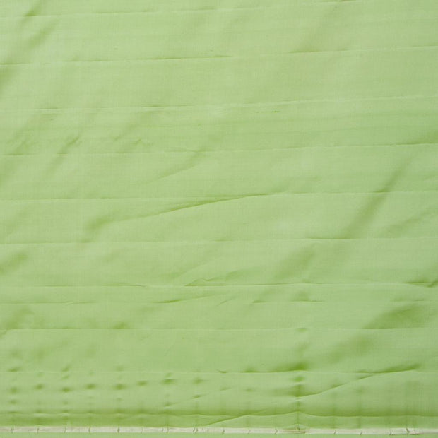 SIGNORAA LIGHT GREEN KANCHIPURAM SILK SAREE-KSL02558- Blouse View