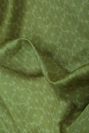 SIGNORAA OLIVE GREEN TUSSAR SILK SAREE-PTS04691- Design View