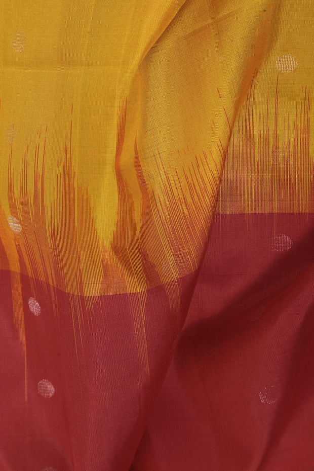 SIGNORAA MULTICOLOUR KANCHIPURAM SOFT SILK SAREE-KSL02549- Design View
