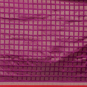 SIGNORAA PURPLE BANARASI SILK SAREE-BSK08949- Blouse View