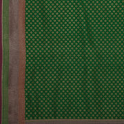 SIGNORAA GREEN BANARASI SILK SAREE-BSK08720- Design View