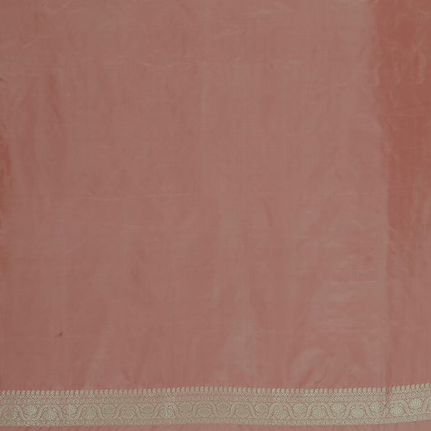 SIGNORAA ONION PINK BANARASI SILK SAREE-BSK09080- Blouse View