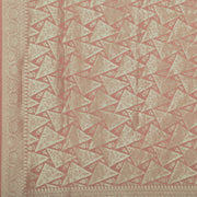 SIGNORAA ONION PINK BANARASI SILK SAREE-BSK09080- Design View