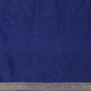SIGNORAA ROYAL BLUE BANARASI SILK SAREE-BSK07803- Blouse View