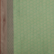 SIGNORAA SEA GREEN BANARASI SILK SAREE-BSK08717D- Design View