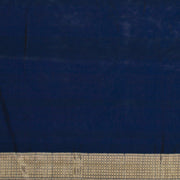 SIGNORAA DARK BLUE BANARASI SILK SAREE-BSK07826- Blouse View