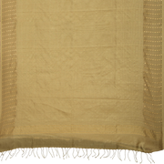 SIGNORAA BEIGE ORGANZA SILK SAREE-PTS04583- Full View