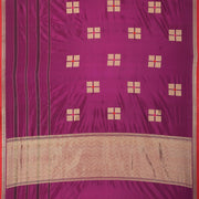 SIGNORAA PURPLE BANARASI SILK SAREE-BSK08949- Full View