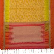 SIGNORAA OIL MUSTARD KANCHIPURAM SILK SAREE-KSL02590- Full View