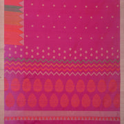 SIGNORAA RANI PINK KANCHIPURAM SILK SAREE-KSL02579- Full View