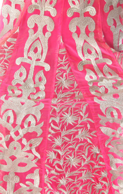 SIGNORAA PINK NET READY-TO-WEAR SALWAR SUIT-SLW03128 - View 2