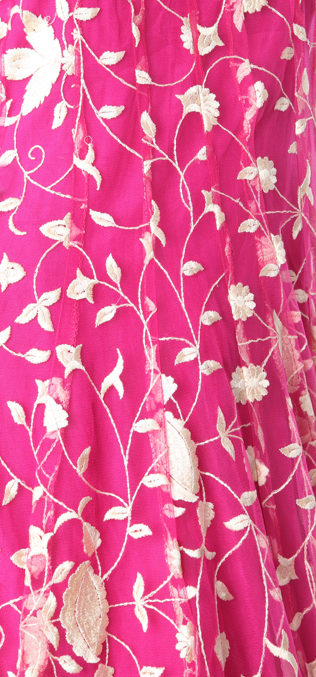 SIGNORAA PINK NET READY-TO-WEAR SALWAR SUIT-SLW02745-Design View