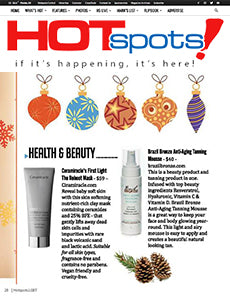 Hot Spots Magazine Holiday Gift Guide 2017 Ceramiracle