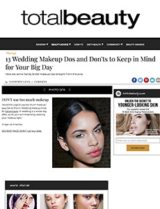 13 Wedding Makeup Dos and Don'ts to Keep in Mind for Your Big Day Totalbeauty
