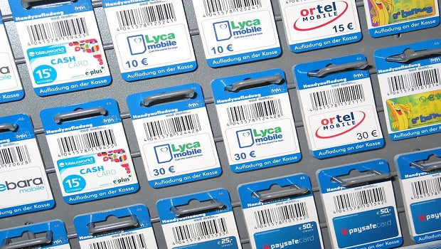 Mobile Recharge Cards