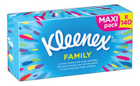 KLEENEX handkerchiefs Family box 140st