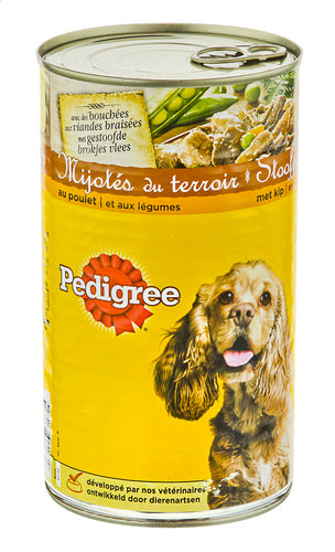 Pedigree dog food stew with chicken 1200g
