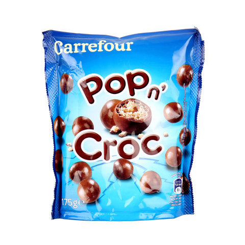 Pop N Croc Milk chocolate pouch 250g