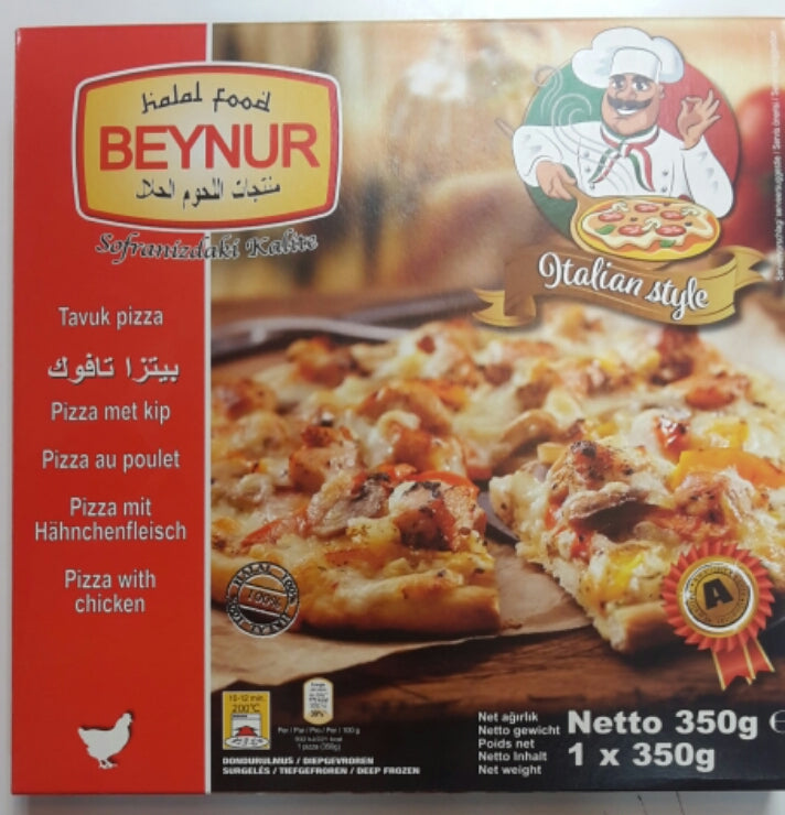 Beynur Chicken Pizza 350g