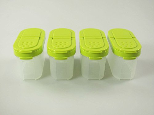 TUPPERWARE spice container small 4x 120ml