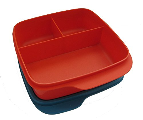 Tupperware Lunch Box Container with Divider 550Ml