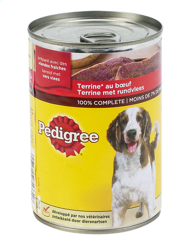 Pedigree terrine with beef  410g