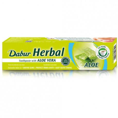 Dabur Herbal Toothpaste Aloevera 130g