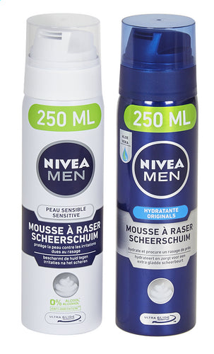 NIVEA MEN shaving foam. 250ml