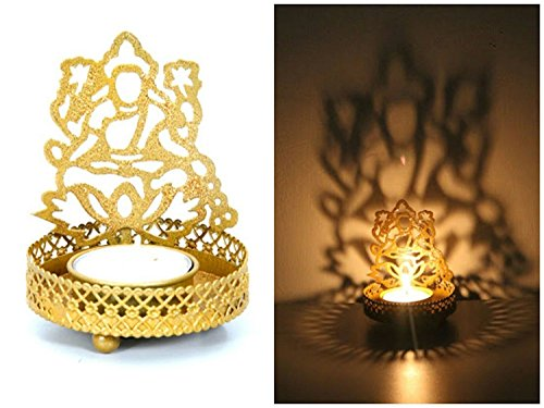 Lakshmi Ganesha Shadow Lamps