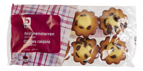 Boni Selection  Raisin Muffins 250g