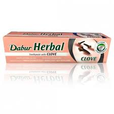 Dabur Herbal Toothpaste clove 155g