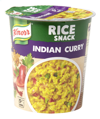 KNORR Rice Snack Indian curry pot 87g