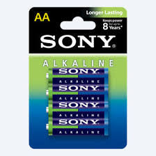 Batteries Sony AA