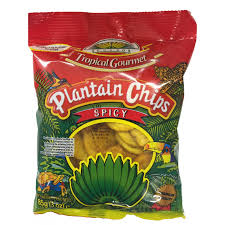 Tropical plantain chips spicy 85g