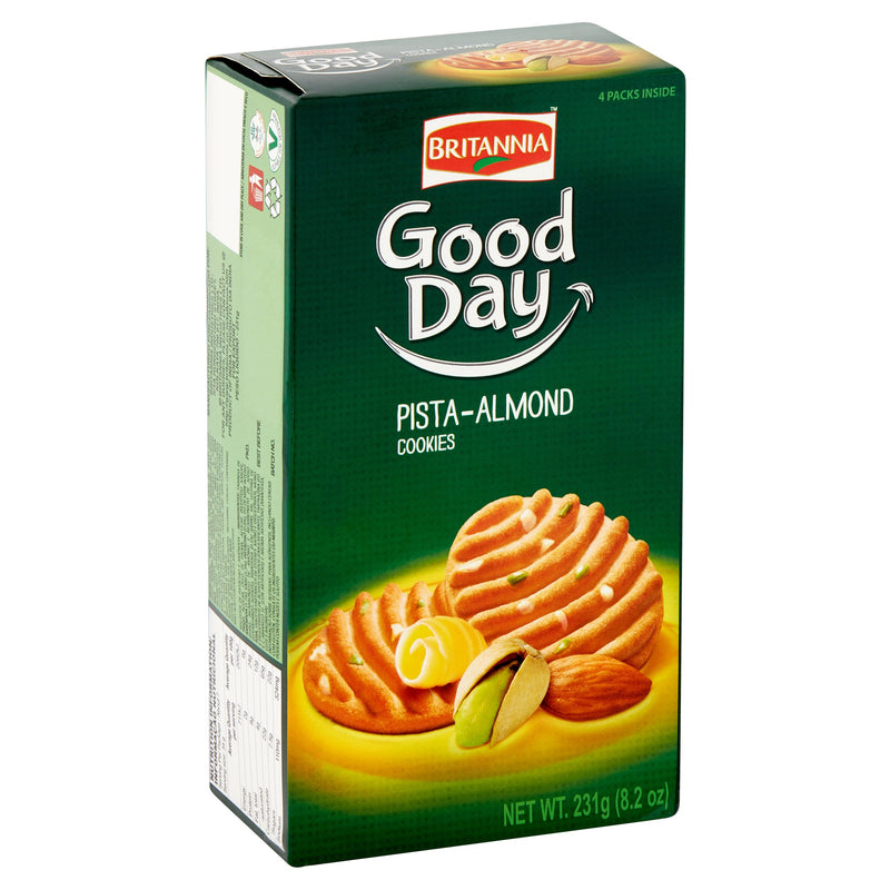 Britannia Good Day biscuits Pista- Almond 216g