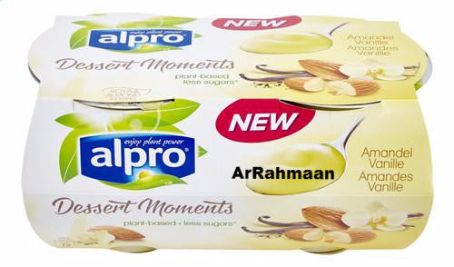 ALPRO Soy dessert with almonds, vanilla 4x125g