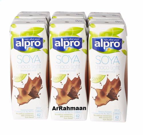 ALPRO Soy light chocolate (brik) 6x250ml
