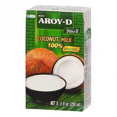 AROY-D Coconut Milk UHT, 250ml